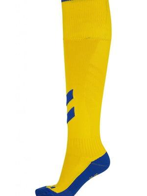 Гетры желтые с логотипом | 5677965