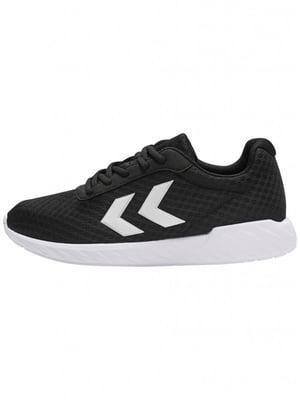 Кросівки чорні з логотипом | 5677984