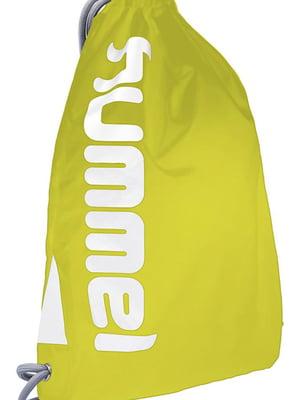 Рюкзак салатового цвета с логотипом | 5673645
