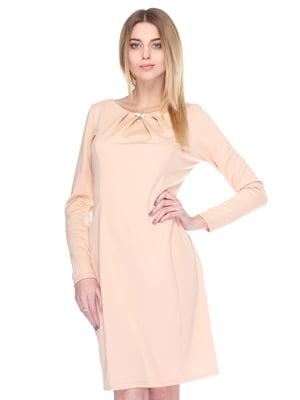 Сукня кольору пудри | 3351383