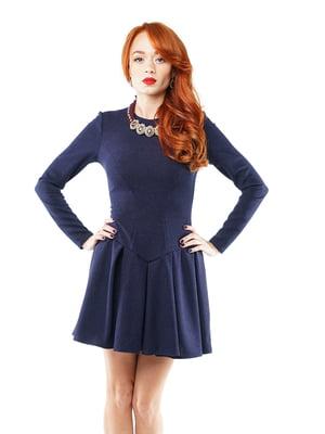 Платье синее | 2844296