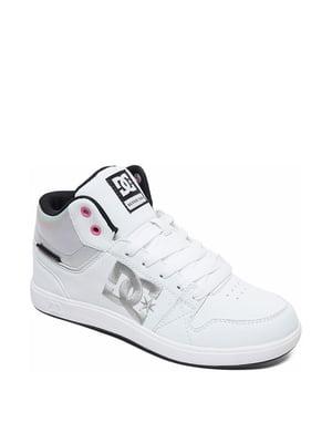 Кеды белые с логотипом | 5678199