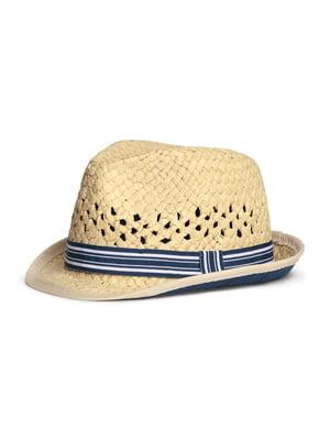 Шляпа бежевая   5671955