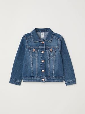 Куртка джинсовая синяя | 5672004