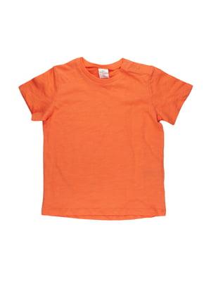 Футболка оранжевая | 5672108