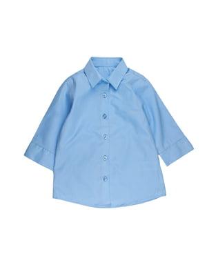 Рубашка голубая | 5672262