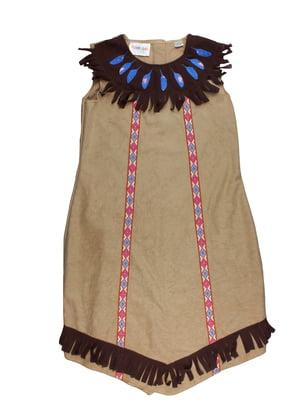 Костюм карнавальний коричневий з декором   5672266