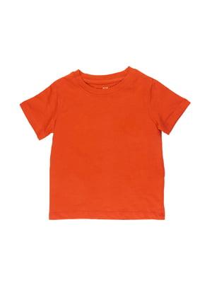 Футболка оранжевая | 5672424