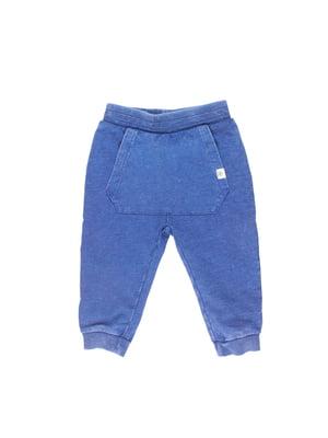 Штани піжамні сині | 5672465