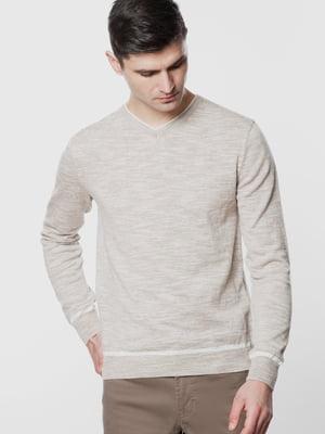 Пуловер бежевый | 5678915