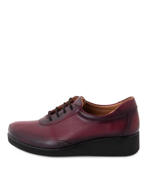 Туфлі бордові | 5679081