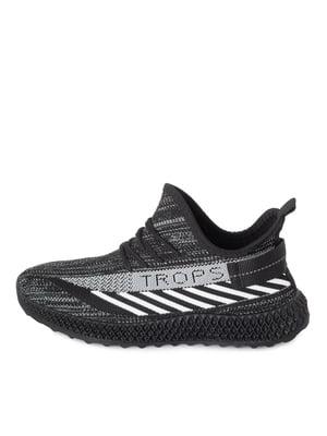 Кросівки чорно-білі | 5679089