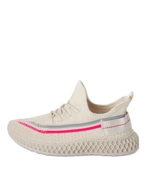 Кросівки бежевого кольору   5679105