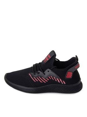 Кросівки чорно-червоного кольору | 5679110