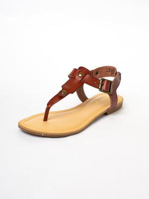 Сандалии коричневого цвета   5663407