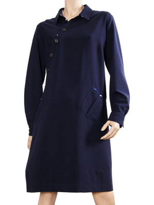 Платье темно-синее   5679405