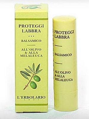 Бальзам для губ защитный на основе оливок и чайного дерева (4,5 г) | 5679152