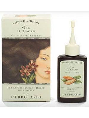 Гель оттеночный для волос «Темный каштан» с какао (70 мл) | 5679286