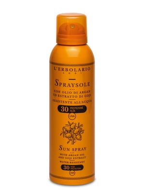 Спрей для загара с аргановым маслом и экстрактом годжи SPF30 (150 мл) | 5679295