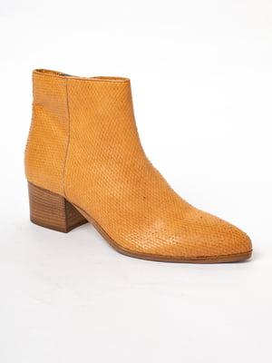 Ботинки рыжего цвета | 5663380