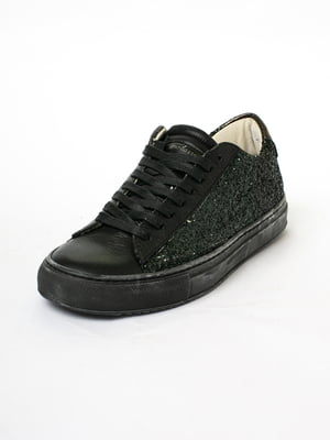 Кеды черные с декором | 5663357
