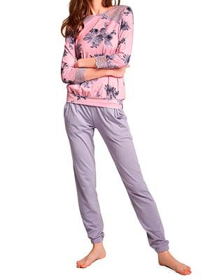 Пижама: лонгслив и брюки | 5679533