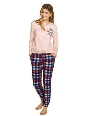 Піжама: пуловер і штани | 5679534