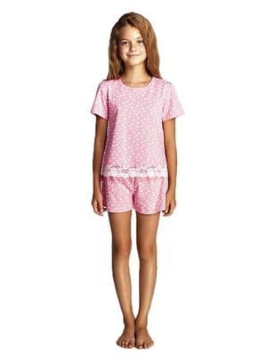 Пижама: футболка и шорты   5679492