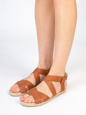 Сандалии коричневого цвета | 5663452