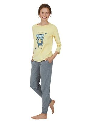 Пижама: лонгслив и брюки | 5679740
