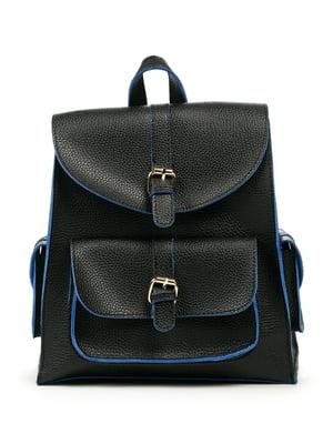 Рюкзак черно-синий | 5254116