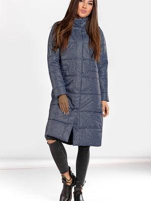 Пальто синее   5680972