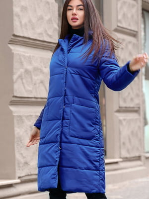 Пальто синее   5681102