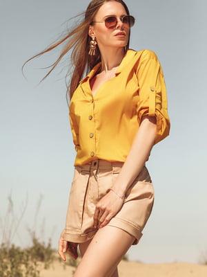 Рубашка желтая | 5681186