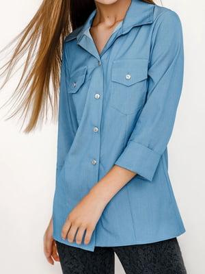 Рубашка голубая | 5681219