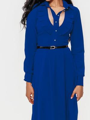 Платье синее | 5681267