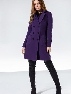 Пальто фіолетове | 5681389
