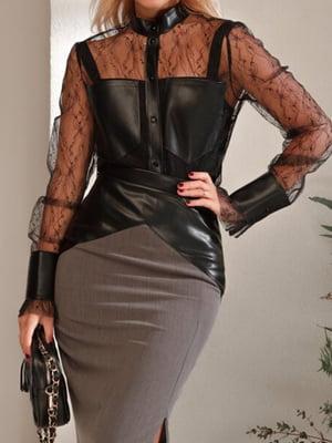 Блуза черная | 5681434