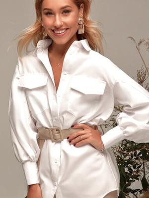 Рубашка белая | 5681453