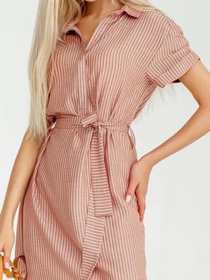 Платье розовое | 5681502