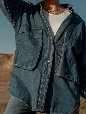 Рубашка синяя | 5681605