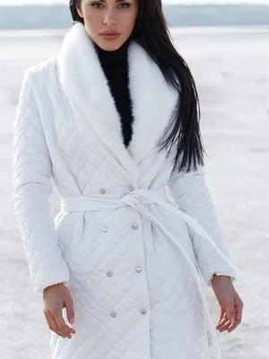 Пальто белое   5681692