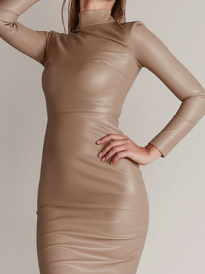 Платье бежевое | 5681748