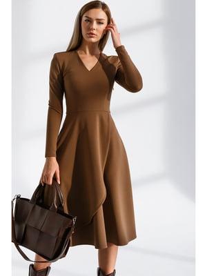 Платье коричневое | 5681804