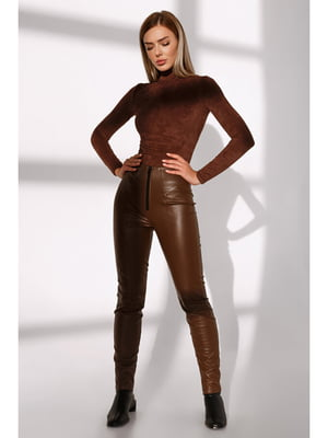Штани коричневі | 5681826