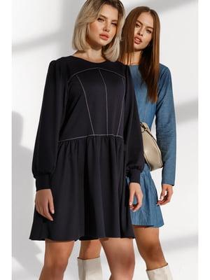Платье темно-синее | 5681837