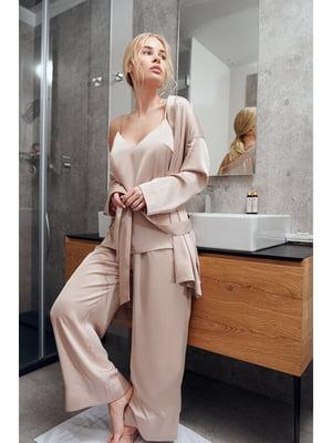 Комплект: майка, халат і штани | 5681847