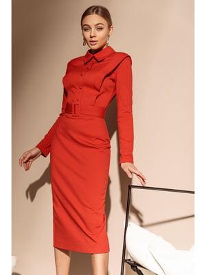 Платье красное | 5681854
