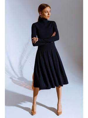 Платье темно-синее | 5681864
