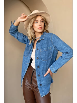 Рубашка синяя | 5681935